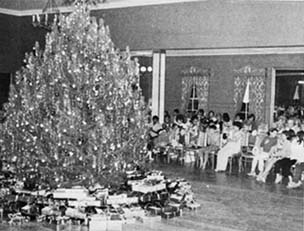 Parker Ranch Christmas Party - post World War II